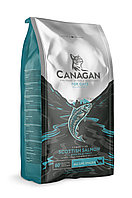 CANAGAN GF корм 4 кг для кошек всех возрастов и котят, Шотландский лосось