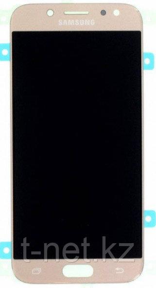 Дисплей Samsung Galaxy J5 J530 (2017), с сенсором, цвет золотой