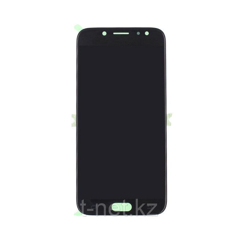 Дисплей Samsung Galaxy J7 J730 (2017), с сенсором, цвет черный, качество OLED