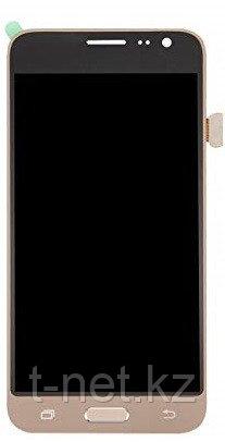 Дисплей Samsung Galaxy J3 (2016) Duos SM-J320H, с сенсором, цвет золотистый