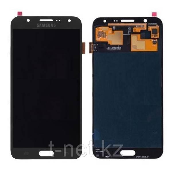 Дисплей Samsung Galaxy J7 Duos (2016) SM-J710 с сенсором, цвет черный, качество OLED