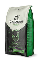 CANAGAN Grain Free, Free-Run Chicken, корм 12 кг для собак всех возрастов и щенков, Цыпленок