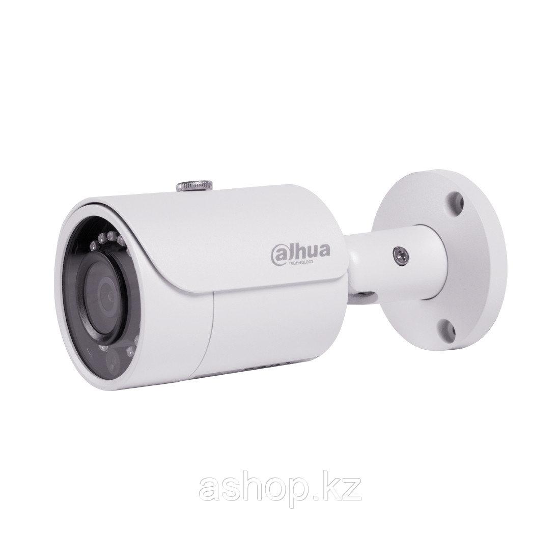 Камера IP цилиндрическая Dahua DH-IPC-HFW1431SP-0360B, Разрешение: 4 Mpi dpi, Тип объектива: f = 3,6 мм, ИК по