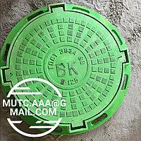 Люк чугунный, тип-B 125, круглый, ВК, ГТС CT-K