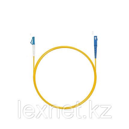 Патч Корд Оптоволоконный LC/APC-ST/UPC SM 9/125 Simplex 3.0мм 1 м, фото 2