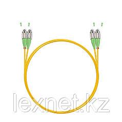 Патч Корд Оптоволоконный FC/APC-FC/APC SM 9/125 Duplex 3.0мм 1 м