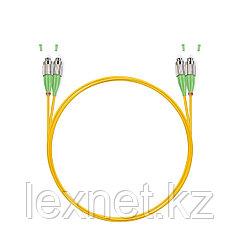 Патч Корд Оптоволоконный FC/APC-SC/UPC SM 9/125 Duplex 3.0мм 1 м