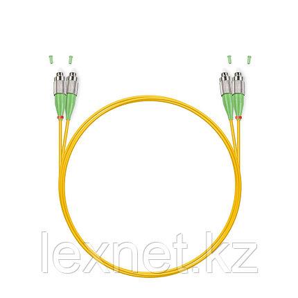 Патч Корд Оптоволоконный FC/APC-SC/UPC SM 9/125 Duplex 3.0мм 1 м, фото 2