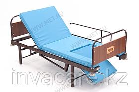 MET KARDO LIGHT Недорогая кровать с функцией кардиокресло и единой винтовой регулировкой