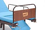 MET KARDO LIGHT Недорогая кровать с функцией кардиокресло и единой винтовой регулировкой, фото 2