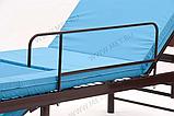 MET KARDO LIGHT Недорогая кровать с функцией кардиокресло и единой винтовой регулировкой, фото 3