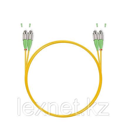 Патч Корд Оптоволоконный FC/UPC-FC/APC SM 9/125 Duplex 3.0мм 1 м, фото 2