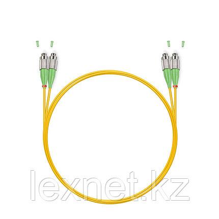 Патч Корд Оптоволоконный FС/UPC-LC/APC SM 9/125 Duplex 3.0мм 1 м, фото 2