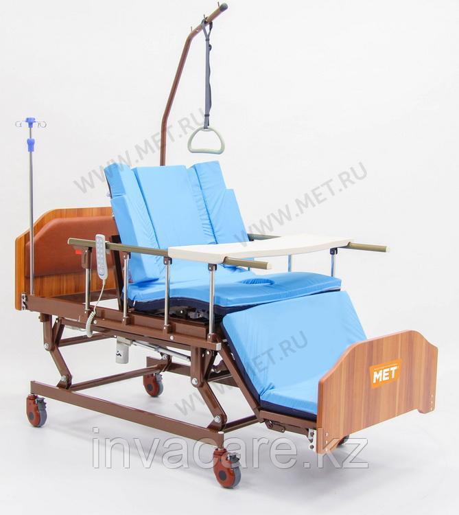 """MET REALTA Кровать-кресло с """"ушками"""" - для сна в положении сидя, для лежачих больных, с регулировкой высоты"""