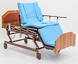 """MET REALTA Кровать-кресло с """"ушками"""" - для сна в положении сидя, для лежачих больных, с регулировкой высоты, фото 2"""