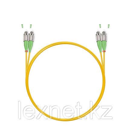 Патч Корд Оптоволоконный LC/APC-LC/UPC SM 9/125 Duplex 3.0мм 1 м, фото 2
