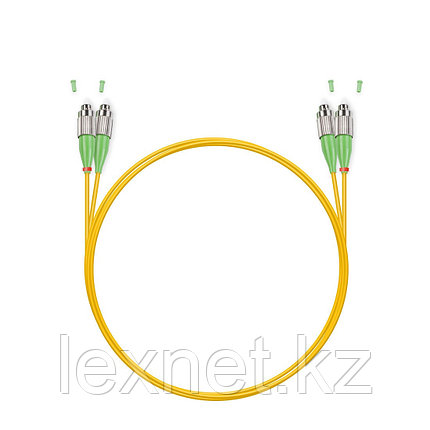 Патч Корд Оптоволоконный LC/APC-ST/UPC SM 9/125 Duplex 3.0мм 1 м, фото 2
