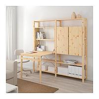 ИВАР 2 секции д/хранения+складной столик, фото 1