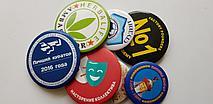 Изготовление значков медалей по индивидуальному заказу