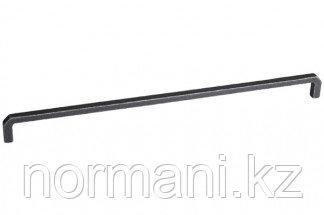 Ручка-скоба 320мм, отделка железо античное черное
