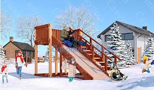 Детские зимние горки