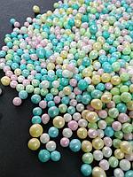 Жемчуг Ассорти посыпка шарики разноцветные, 200 грамм