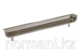Ручка-скоба врезная 160мм, отделка сталь шлифованная