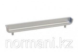 Ручка-скоба врезная 160мм, отделка алюминий