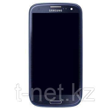 Дисплей Samsung Galaxy S3 I9300 с сенсором, в сборе цвет синий