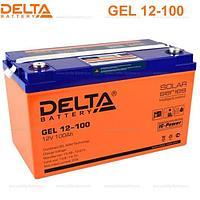 Аккумуляторная батарея Delta GEL 12-100, фото 1