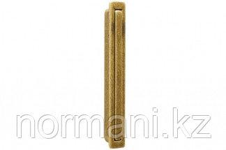 Ручка врезная, отделка бронза натуральная