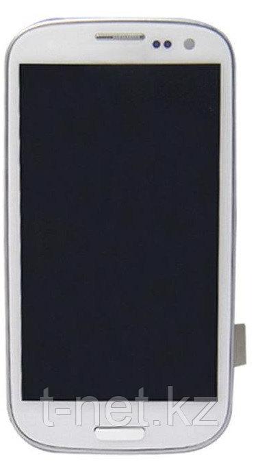 Дисплей Samsung Galaxy S3 I9300 с сенсором, в сборе цвет белый