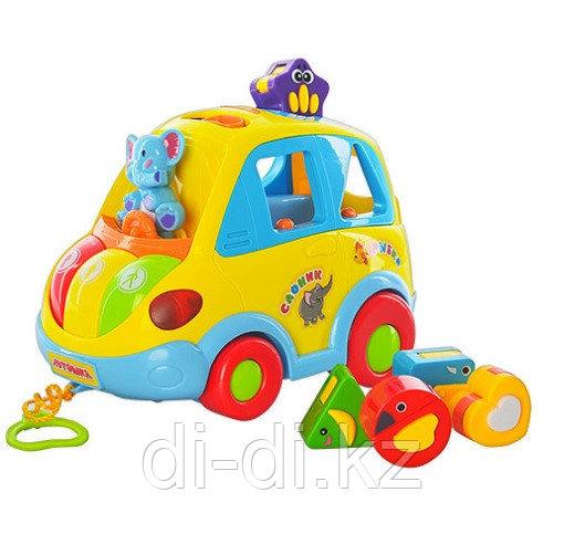 Музыкальная развивающая машина Автошка, Joy Toy