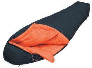 Спальный мешок для зимнего туризма и альпинизма Delta Black