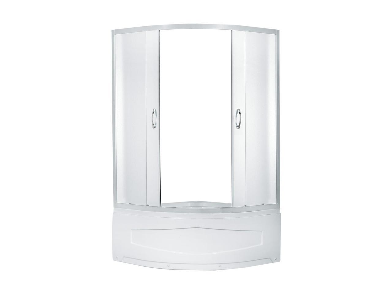 Душевой уголок Erlit ER0509T-C3, 90х90 см., с высоким поддоном, матовое стекло