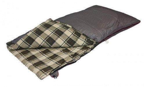 Кемпинговый спальный мешок большого размера Siberia Wide Alexika