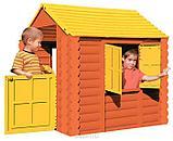 Детский игровой Домик Marian Plast (Palplay) - Лесной Умные липучки  (коричневый, желтый) , фото 2