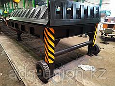 Мобильная рампа для погрузчиков с трехсторонней загрузкой (Казахстанское производство)