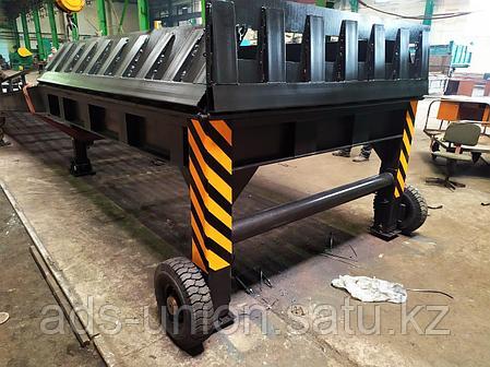 Мобильная рампа с трехсторонней загрузкой (Казахстанское производство), фото 2