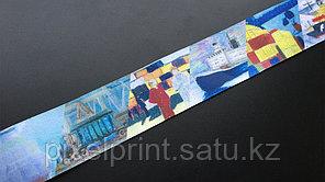 Лента с полноцветоной печатью для медали