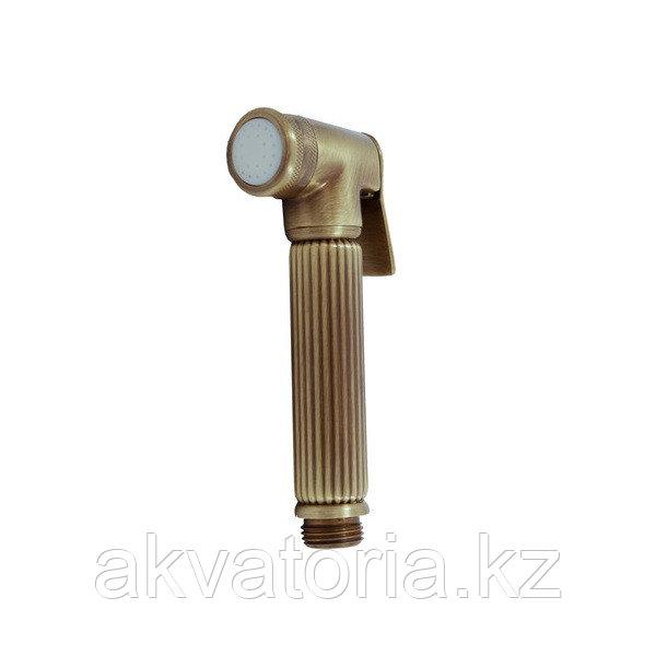 KS0005SM душевая головка со стоп-вентилем бронза