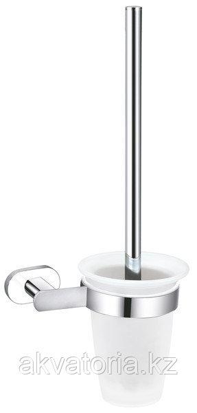 YUA0500CB YUKON Туалетная щетка хром/белая