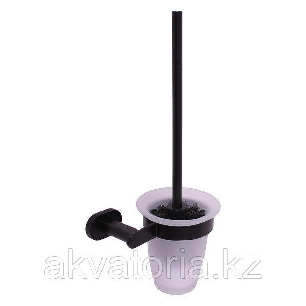 YUA0500 CMAT YUKON Туалетная щетка хром/черная