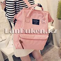 Сумка-рюкзак с боковыми карманами Living Travelling Share (розовый)
