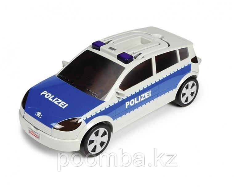 """Автомобиль-кейс на 24 авто """"Полиция"""" (свет, звук), 45 см"""