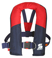 Спасательный жилет SECUMAR ARKONA HARNESS 220N (>50кГ)(баллон CO²-43г.)(красный/синий) R 30386