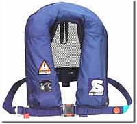 Спасательный жилет SECUMAR CANOE PLUS 150N (>50кГ)(баллон CO²-32г.)(синий) R 30385