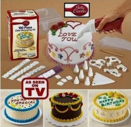 Набор для украшения торта Cake Decoration Kit, фото 2
