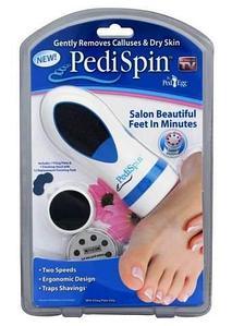 """Машинка для педикюра """"Pedi Spin"""" {2 скорости, 2 насадки}"""
