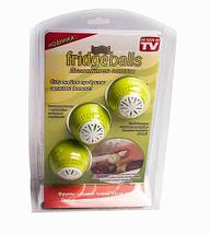 Набор поглотителей запахов для холодильника Fridge Balls [3 шт.], фото 2